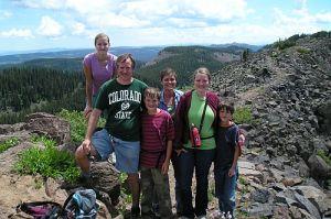 Family at Grand Mesa
